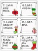 December Literacy and Math Centers for Second Grade-Common Core Aligned