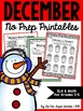 December Literacy and Math Printables ~ The Bundle