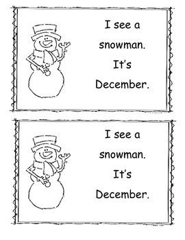 December Little Reader/Emergent Readers