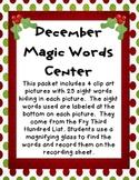 December Magic Words
