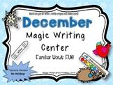 "December ""Magic Writing"" Activities Non-Holiday"