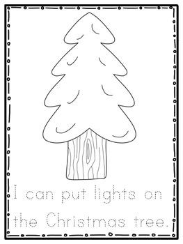 December Magic Writing Center Activity
