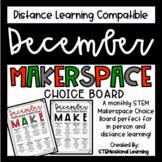 December Makerspace STEM Choice Board