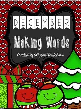 December Making Words