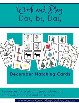 December Matching Game Super Set