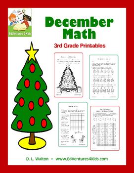 December Math: 3rd Grade