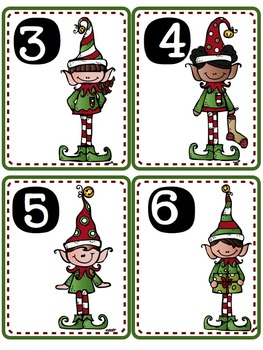 December Math Bins For Kindergarteners- Aligned To The Common Core!