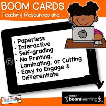 December Math Boom Cards | Ten Frames Kindergarten TEKS