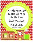 December Kindergarten Math Center Activities!