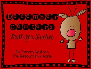 December Centers {Math for Firsties}