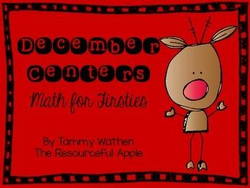 December Centers {Math for Firsties}