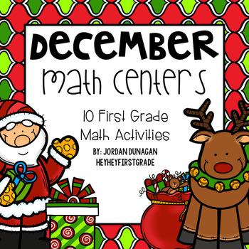 December / Christmas Math Centers