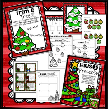 December Math Centers - Add and Subtract Shortcuts (Mental Math)
