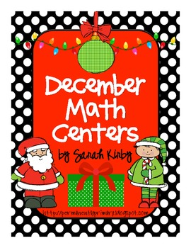 December Math Centers - CC Aligned