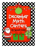 December Math Centers - CC Aligned