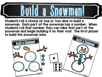 December Math Centers, Journals, and Printables Kindergarten