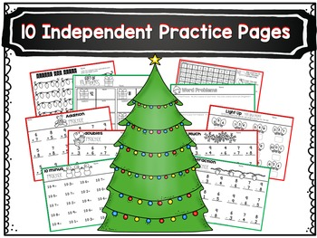December Math Centers and Printables