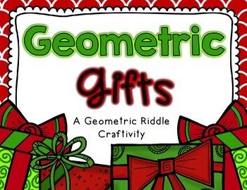 December Math Craftivities
