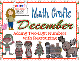 December Math Crafts Adding Two-Digit Numbers with Regrouping