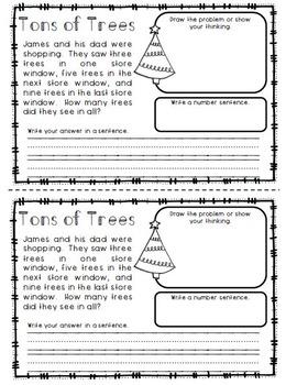 December Math: Daily Word Problems