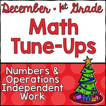 December Math First Grade