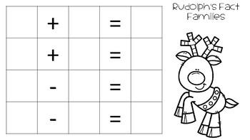 December Math Fluency Practice