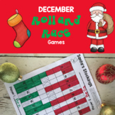 December Math Games: Print and Play!