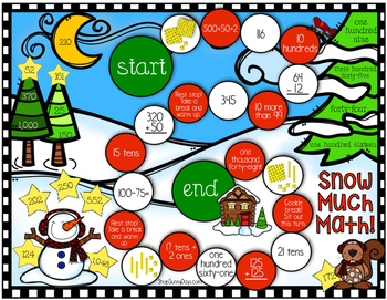 December Math Games - Print and Play!