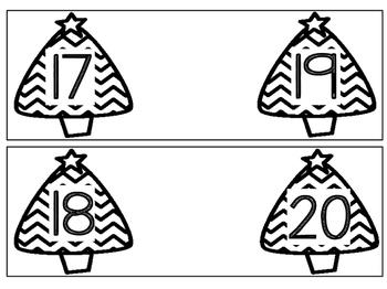December Math Games for Kindergarten