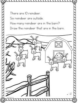 Kindergarten-Special Education - December Math Journal