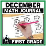 First Grade Math Journal for December