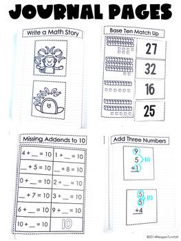 First Grade Math Journal Volume 4
