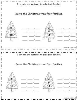 December Math Journal: Second Grade Common Core