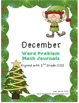 December Math Journal: Word Problems