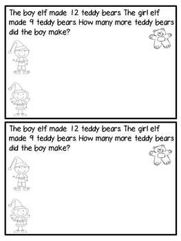 December Math Journals {First Grade}