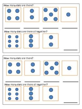 December Math Journals Kindergarten