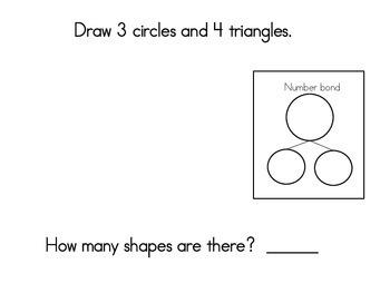 January Math Journals with Number Bonds: Kindergarten