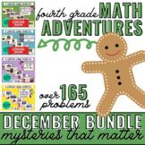 December Math Learning League Adventures- 4th Grade *GROWI