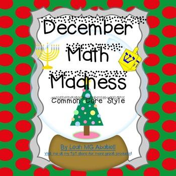 December Math Madness