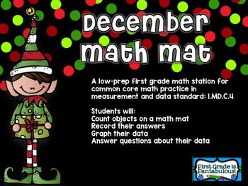 December Math Mat
