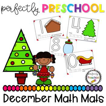 December Math Mats