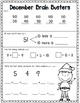 December Math Pack (1st Grade Common Core)