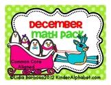 December Math Pack