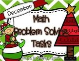 December Math Problem Solving Tasks