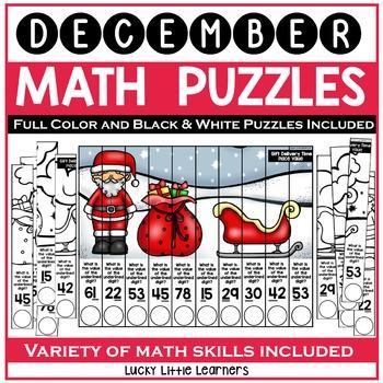 December Math Puzzles