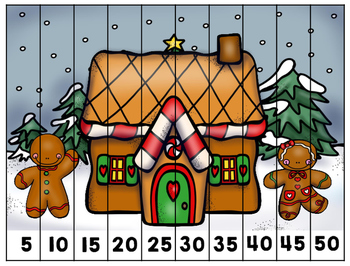 December Puzzles for Little Learners Grab Bag