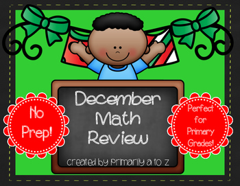 December Math Review {Addition, Place Value & Related Facts}