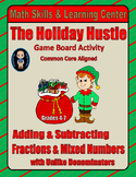 "Christmas Math Skills & Learning Center (Add & Subtract ""Unlike"" Fractions)"