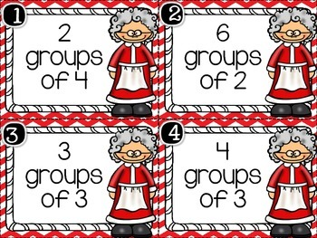 December Math Stations (10 Stations)
