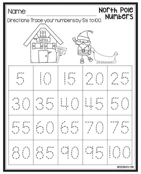 December Math Stations {Based on BUILD}